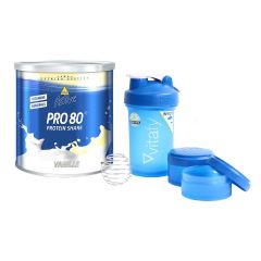 Active Pro 80 (750g) + Blender Bottle Vitafy Prostak (650ml) gratis