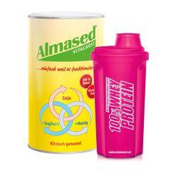 Almased + Shaker pink gratis