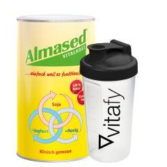 Vitalkost Pulver Almased (500g) + Vitafy Shaker (600ml)