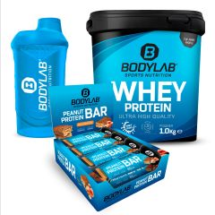 BACK TO GYM DEAL mit Peanut-Caramel Protein Bars