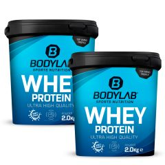 Doppelpack Whey Protein (2 x 2000g)