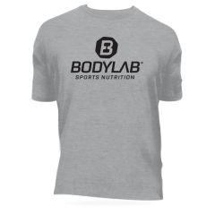 T-Shirt grau mit schwarzem Logo