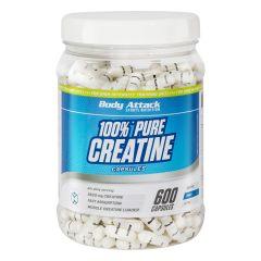 100% Pure Creatin (600 Kapseln)