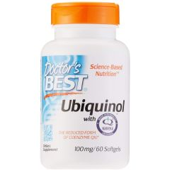 Ubiquinol mit Kaneka QH 100 mg (60 Kapseln)
