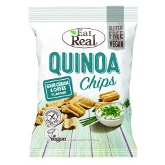 Quinoa Chips Sour Cream & Chives (113g)