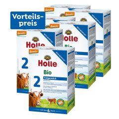 6 x  Bio-Folgemilch 2, Vorteilspack, nach dem 6. Monat (6x600g)