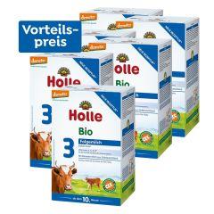 6 x Bio-Folgemilch 3, Vorteilspack, ab dem 10. Monat (6x600g)