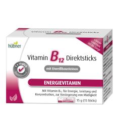 Vitamin B12 Direktsticks mit Eiweißbausteinen (15x1g)