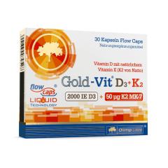 Gold-Vit D3+K2 (30 capsules)