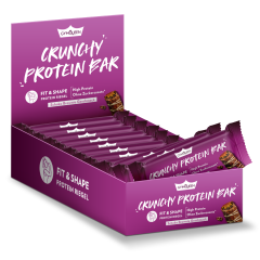 Crunchy Protein Bar - 12x32g - Schoko Brownie
