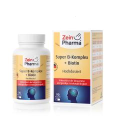 Super B-complex + Biotin (90 capsules)