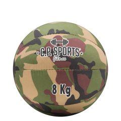 Medizinball Camouflage Oliv