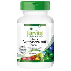 B-12 Methylcobalamin 5000µg (90 Tabletten)