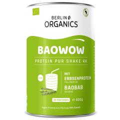 Baowow Vegan Protein Organic - 400g - Pure