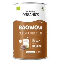 Baowow Vegan Protein Organic - 400g - Chocolate