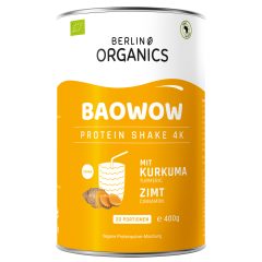 Baowow Vegan Protein Organic CurCuma (400g)