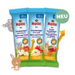 Bio-Früchteriegel/ Frucht-Gemüseriegel Probierpack, ab dem 12. Monat (6x25g)