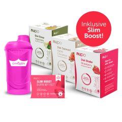 2-Wochen-2:5-Diät-Pack TURBO (84x32g + 30/60 Kapseln) inkl. gratis Shaker
