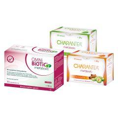 OMNi-BiOTiC® Metabolic Pulver (30x3g) + CHARANTEA® metabolic (20 Beutel)