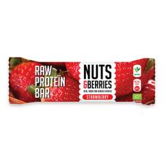 Raw Protein Bar Bio Strawberry (35g)