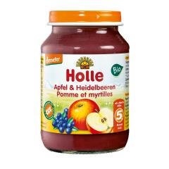 Apfel & Heidelbeeren - 190g - Demeter, ab dem 5. Monat