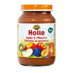 Apfel & Pflaume - 190g - Bio, ab dem 6. Monat