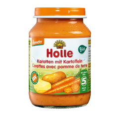 Karotten mit Kartoffeln - 190g - Demeter, ab dem 5. Monat