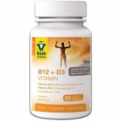 Vitamine B12 + D3 (60 Tabletten)