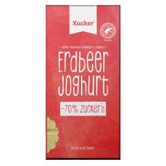 Erdbeer-Joghurt Weiße Schokolade (80g)