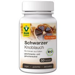 Bio Schwarzer Knoblauch (50 Kapseln)