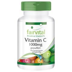 Gepuffertes Vitamin C 1000mg (400 Kapseln)