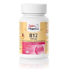 Vitamine B12 500µg (60 zuigtabletten)