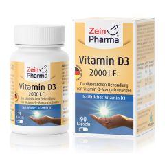 Vitamine D3 2000 I.E. (90 capsules)