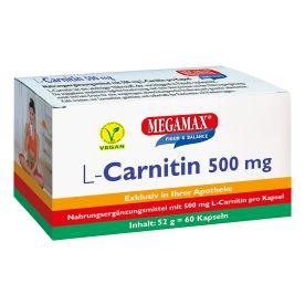L-Carnitin 500 mg (60 Kapseln)