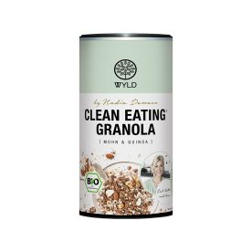 "Clean Eating Granola Mohn & Quinoa ""by Nadia Damaso"" bio (350g)"