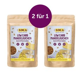 LOCA Mandelkuchen-Sparpaket: Kauf 2, zahl 1!