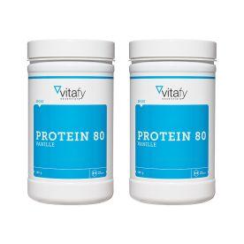 2 x Protein 80 Vanille (2x500g)