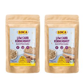 2 x Low-Carb Körnerbrot Backmischung (2x250g)