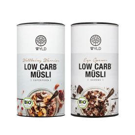 2 x Bio Low Carb* Müsli (2x350g)