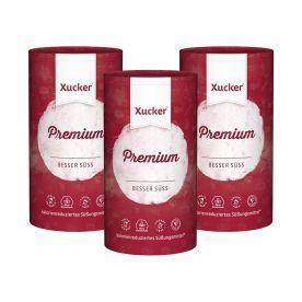 3 x Xucker Premium 100% Xylit (3x1000g)