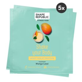 5 x Whey Isolat Protein Mango Lassi »Shake your Body« to go (5x30)