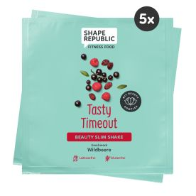5 x Beauty Slim Shake Wildbeere »Tasty Timeout« to go (5x30g)