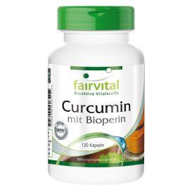 Curcumin mit Bioperin (120 Kapseln)