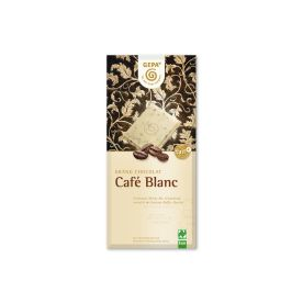 10 x Bio Schokolade Café Blanc (10x100g)