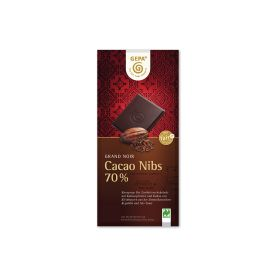 Bio Schokolade Cacao Nibs 70% (100g)