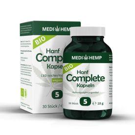 Bio Hanf Complete 5% CBD (30 Kapseln)