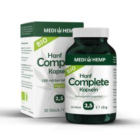Bio Hanf Complete 2,5% CBD (30 Kapseln)