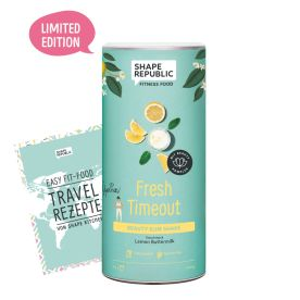 Beauty Slim Shake Lemon Buttermilk »Fresh Timeout« (420g) + »Travel Rezepte«