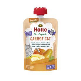 Demeter Carrot Cat - Pouchy Karotte, Mango, Banane & Birne, ab dem 6. Monat (100g)