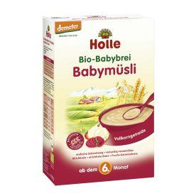 鸿乐婴儿有机全麦水果米粉 6个月起 250g  Bio-Babybrei Babymüsli, ab dem 6. Monat (250g)